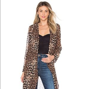Leopard Duster OUT OF STOCK